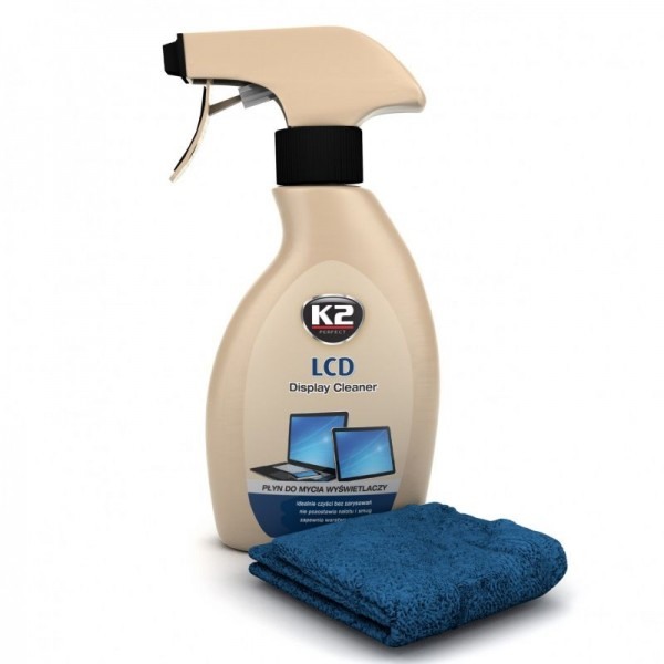 K2 K515 LCD DISPLAY CLEANER 250ml + ΠΑΝΑΚΙ