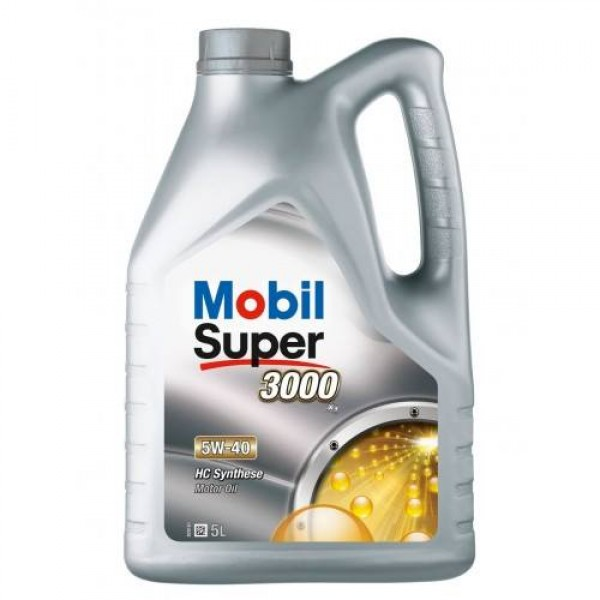 MOBIL SUPER 3000 X1 5W-40 HC SYNTHESE 5L