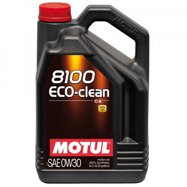 MOTUL 8100 ECO-CLEAN C2 0W-30 5L